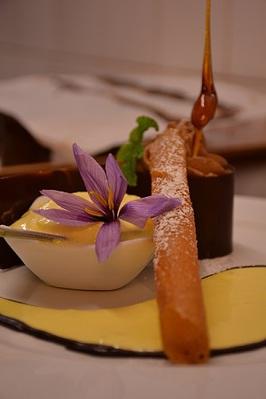 Larme Chocolat Glace Safran